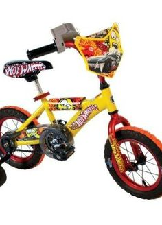 Brightly colored and perfect for zooming around, this Hot Wheels bike is a great gift for your car-crazed little boy.