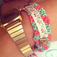 DIY pulsera newyorkina ;)