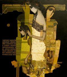 Siddharth Shingade    Siddharth Shajirao Shingade's paintings have a stylized quality to them. The artist creates a ...