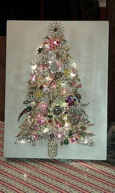 Image result for Jewelry Christmas Tree Idea