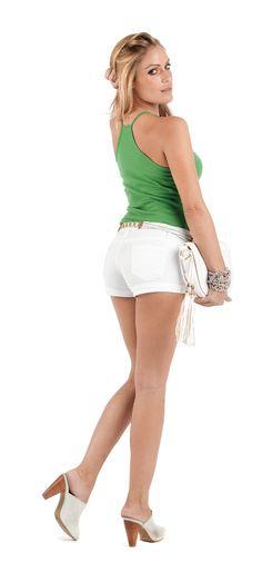 Camiseta de mujer de tirantes atleta 6812 VALENTINA