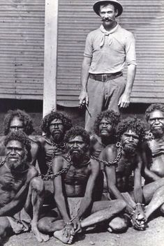 Australia, until 60s, Aborigines came under the Flora And Fauna Act, classified them as animals, not human beings.