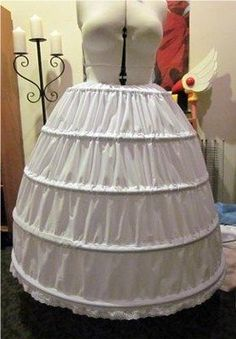 Cosplay Tutorial Series: Chapter 1 Basic Hoop Skirt for Ball Gowns Cosplay Diy, Best Cosplay, Cosplay Costumes, Costume Tutorial, Skirt Tutorial, Diy Jupe, Hoop Skirt, Civil War Dress, Historical Costume