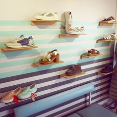 Some great new additions to our shoe wall 🙌🌈👟 #newshoes