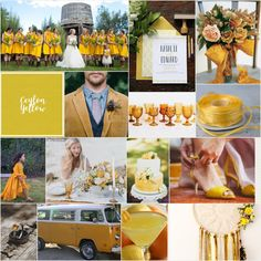 Ceylon Yellow, Pantone 15-0850, Hex D5BD35 #colorinspiration #weddingcolor #ceylonyellowwedding Yellow Wedding, Wedding Colors, Fall 2018, Color Trends, Color Inspiration, Color Schemes, Yellow Pantone, Fall Winter, Table Decorations