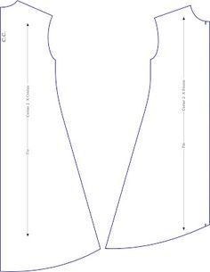 pattern drafting how to for a trapeze dress