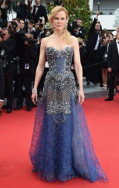Nicole Kidman Ooh la la! Os looks do tapete vermelho do Festival de Cannes