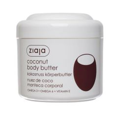 Coconut Body Butter by Ziaja. $9.99. Ingredients: Aqua (Water), Elaeis Guineensis (Palm) Oil, Cetearyl Ethylhexanoate, Butyrospermum Parkii (Shea Butter), Caprylic/Capric Triglyceride, Cetearyl Glucoside, Cetearyl Alcohol, Dimethicone, Glycerin, Glyceryl Stearate Citrate, Hydrogenated Coco-Glycerides, Hydrogenated Palm Kernel Oil, Tocopheryl Acetate, Sodium Polyacrylate, Phenoxyethanol, Methylparaben, Propylparaben, 2-Bromo-2-Nitropropane-1,3-Diol, Diazolidinyl Ure...