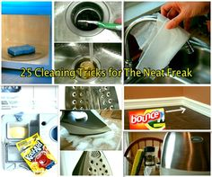25 Thorough Cleaning Tricks For The Neat Freak | DIYSelfies