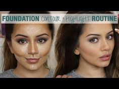 Tutorial | Foundation Contour & Highlight Routine | Kaushal Beauty - YouTube