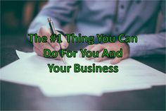 The #1 Thing That You Can Do For Your Business | Kenny Santos