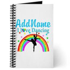 Pretty personalized Dancer journal http://www.cafepress.com/sportsstar.1406004767 #Dancer #Dancing #Dancergifts #Dancingqueen #Ilovedancing #moderndance #Ballerina #Ballet #Dancinggift #Borntodance #Dancerjournal