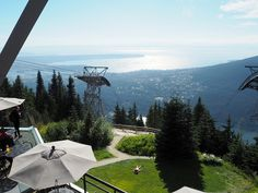 Super Aussicht vom Grouse Mountain, Vancouver