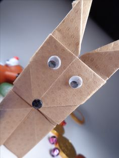 Origami Reindeer Container Christmas Decoration DIY. Gag Reel - who is tipsy? This probably camera man error; but you can see the pattern in the paper in this shot.www.DirkSpencer.Com;  http://www.resumepsychologythebook.com/;  http://resumekeywordsdecoded.teachable.com/;  https://www.amazon.com/dp/B01MZ2Q3DY;  https://www.amazon.com/dp/0692771840; http://www.amazon.com/dp/0692652698/; http://www.Amazon.Com/dp/0692525602/;
