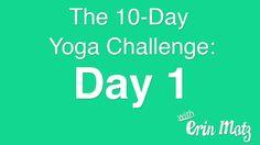 10 Day Yoga Challenge: Day 1 (Viernes 20)