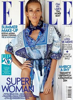 Petra Nemcova, Elle Magazine [Czech Republic] (July 2014)