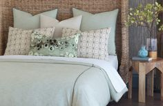Thom Filicia Luxury Bedding by Eastern Accents which we sell!