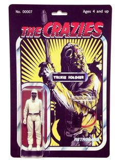 MAN-E-NEWS// The Crazies' Trixie Soldier resin action figure from Retroband...