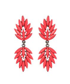 This Pink Austrian Crystal Drop Earrings is perfect! #zulilyfinds