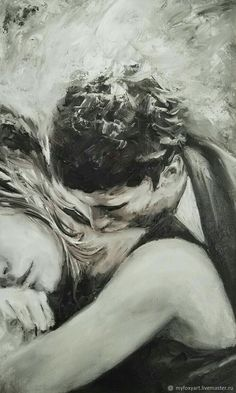 Couple drawings images for loving couple - page 4 of 4 - disqora art in 201 Couple Drawing Images, Couple Drawings, Love Drawings, Art Drawings, Image Couple, Couple Art, Painting Love Couple, Art Amour, Arte Black