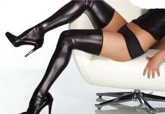 RH7371 Black/red latex stockings hot sale popular style wholesale and retail fashion stockings ohyeah brand new women stocks