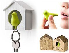 SORTEO: Sparrow KeychainCuando el pájaro está en elnido... es que túya estás en casa!Espero que os guste!! Suerte