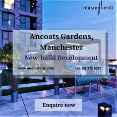 New Builds, Liverpool, Contemporary Design, Manchester, Sustainability, Competition, Investing, Real Estate, Estate Agents