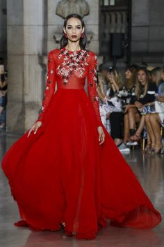 Georges Hobeika Couture Fall Winter 2017 Paris