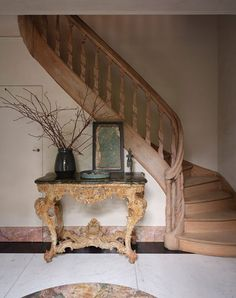 〚 How Zara Home decorated glorious old mansion of Belgian artist Eddie Dunkers 〛 ◾ Photos ◾ Ideas ◾ Design #staircase #vintage #rustic #old