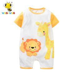 Mickey Mouse Romper Cute Newborn Baby 0-24 Months Girl Boy Long Sleeve 639