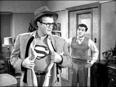 I hope he doesn't let Jimmy see what,is under his shirt, that mild-mannered Clark Kent.