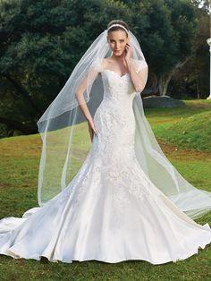 Charming Elastic Woven Satin Straps Mermaid Natural Waist Sleeveless Wedding Dresses