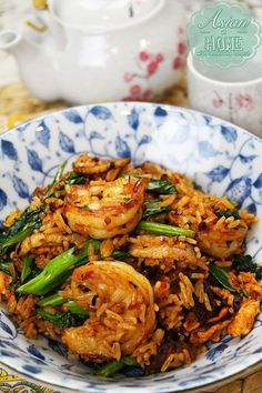 Devil& Fried Rice (Ultimate Spicy Fried Rice Recipe & Video) - Asian at Hom. Devil& Fried Rice (Ultimate Spicy Fried Rice Recipe & Video) - Asian at Home Spicy Fried Rice Recipe, Fried Rice Recipe Video, Prawn Fried Rice, Basil Fried Rice, Spicy Rice, Spicy Recipes, Seafood Recipes, Asian Recipes, Cooking Recipes