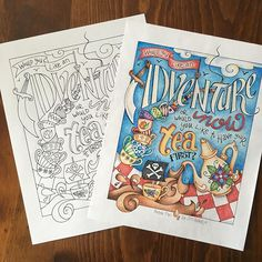 This Coloring Page Is Now Available In My Etsy Shop Link The Profile