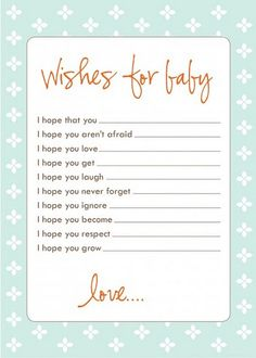 free template download for baby shower