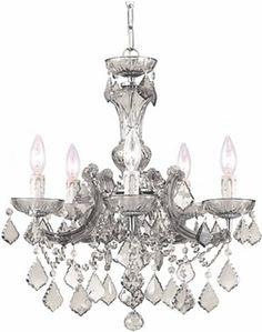 """Crystorama Maria Theresa Collection - Brand Lighting  20""""w x 19""""h US$450"""