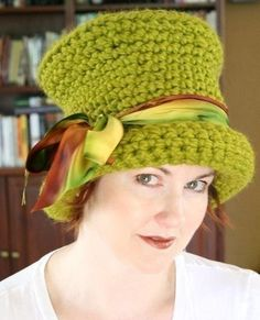 Top Hat Style Hat Crochet Pattern Different Variations PDF Downloadable Pattern