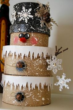 Pinterest Garden Crafts   Top 5 Pinterest Snowman DIY Arts and Crafts, Collections and ...