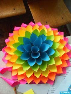 7 Moldes y tutorial para hacer lindos adornos de papel para fiestas ~ Mimundomanual