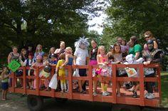Trick-or-Treat wagon ride!