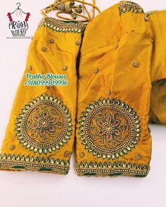 No photo description available. Cutwork Blouse Designs, Pattu Saree Blouse Designs, Simple Blouse Designs, Stylish Blouse Design, Blouse Neck Designs, Sleeve Designs, Sari Blouse, Saree Dress, Dress Designs