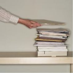 The ABCs of Household Paper Management. Efficient paper management is easy as ABC: action, basic and classic file systems.  Working together, these three file locations help you sort paperwork at the source, allow you to to find documents easily, and help you maintain and retrieve important papers in the future.