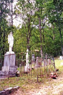#46. Devil Anse. The infamous Hatfield is buried in this cemetery near Sarah Anne, W.Va.