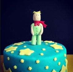 Little Prince Themed Birthday Cake