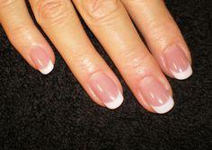 French solar nails