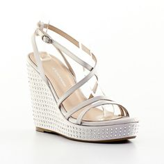 Πέδιλα Kαλογήρου Private Label Πλατφόρμες Ιβουάρ Περλέ   All About Shoes