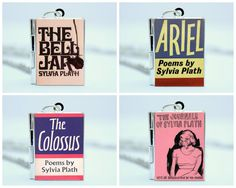 Sylvia Plath Book Locket Charm Necklace / by TheLocketLibrary