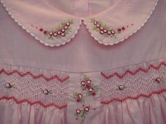 HandEmbroidery Smocking DressStyleP62410 by LittleRoseCollection on etsy.