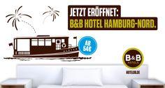 Jetzt eröffnet: B&B #Hotel #Hamburg-Nord - 67. B&B Hotel in Deutschland