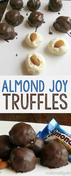 almond joy truffes r...